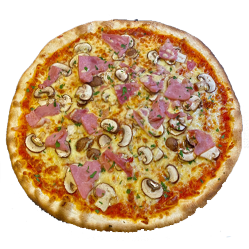 Ham & Mushroom Florios Pizza Co - Wood Fired Pizza In A Van The Whistle Stop Liss Hampshire Petersfield Greatham Durford Wood Hill Brow Rake Hawkley Liphook